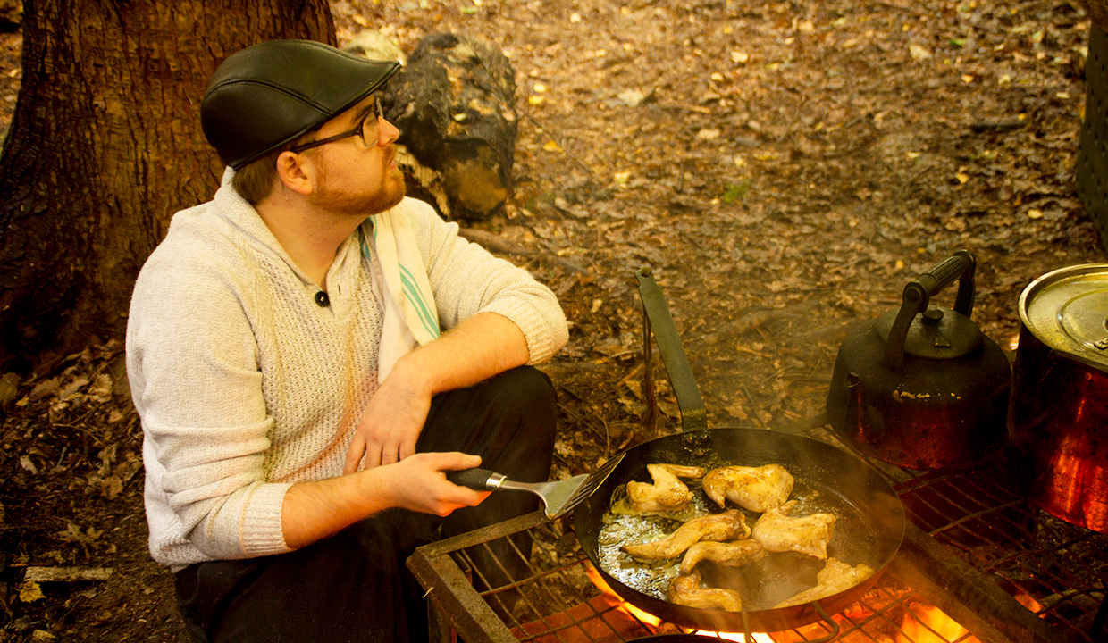foraging cooking course