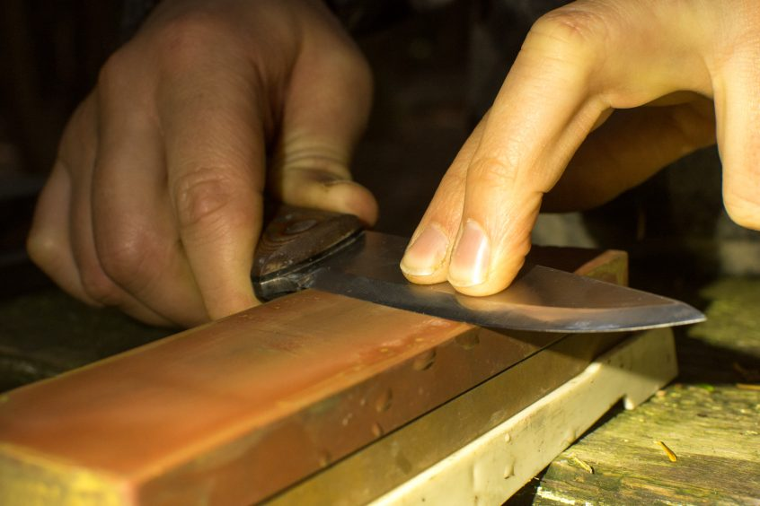 knife and axe sharpening