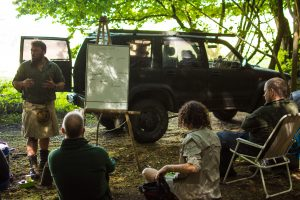 bushcraft instructor uk